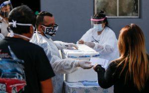 Operativo preventivo en el barrio José Luis Cabezas