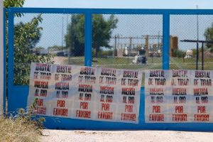 Un pedido que meses atrás, explícitamente y a través de afiches, formularon vecinos ribereños.