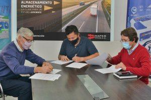 Marcos Actis, Martín Mateo y Horacio Frene