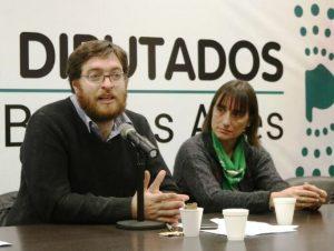 Guillermo Kane y Romina del Plá